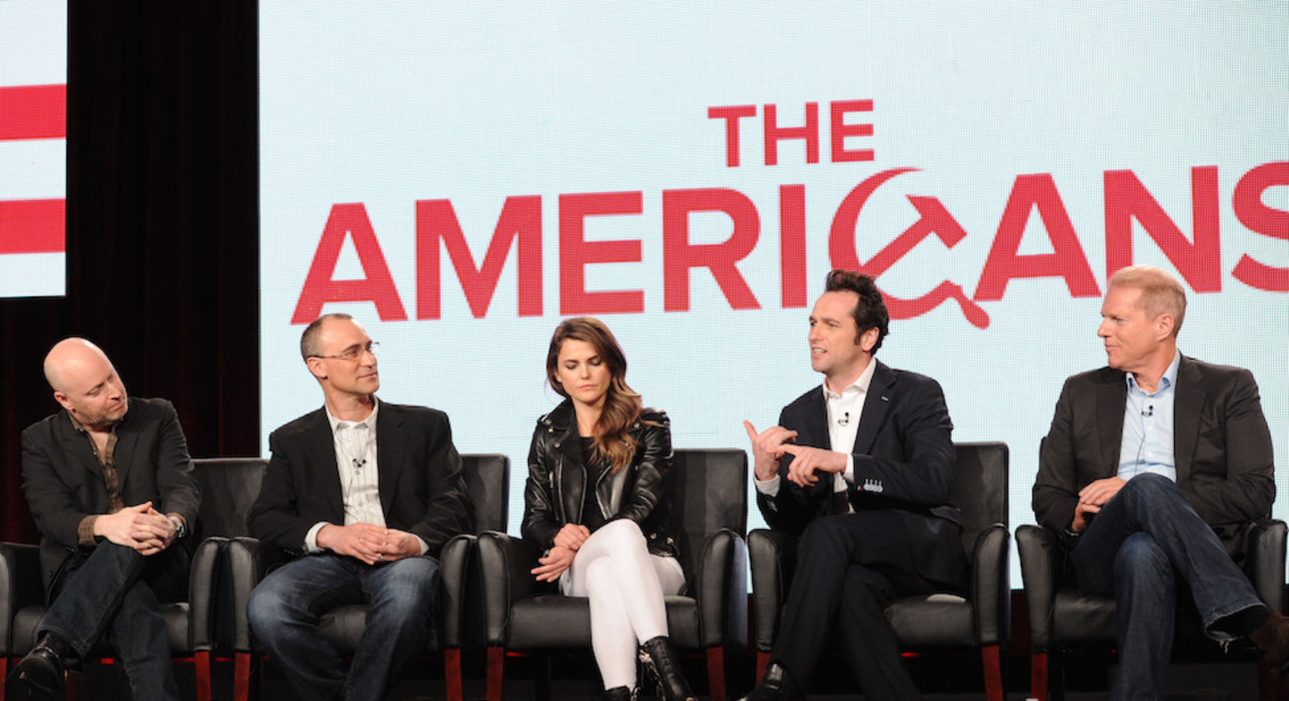 "The cast of FX's ""The Americans."" Photo by Associated Press."