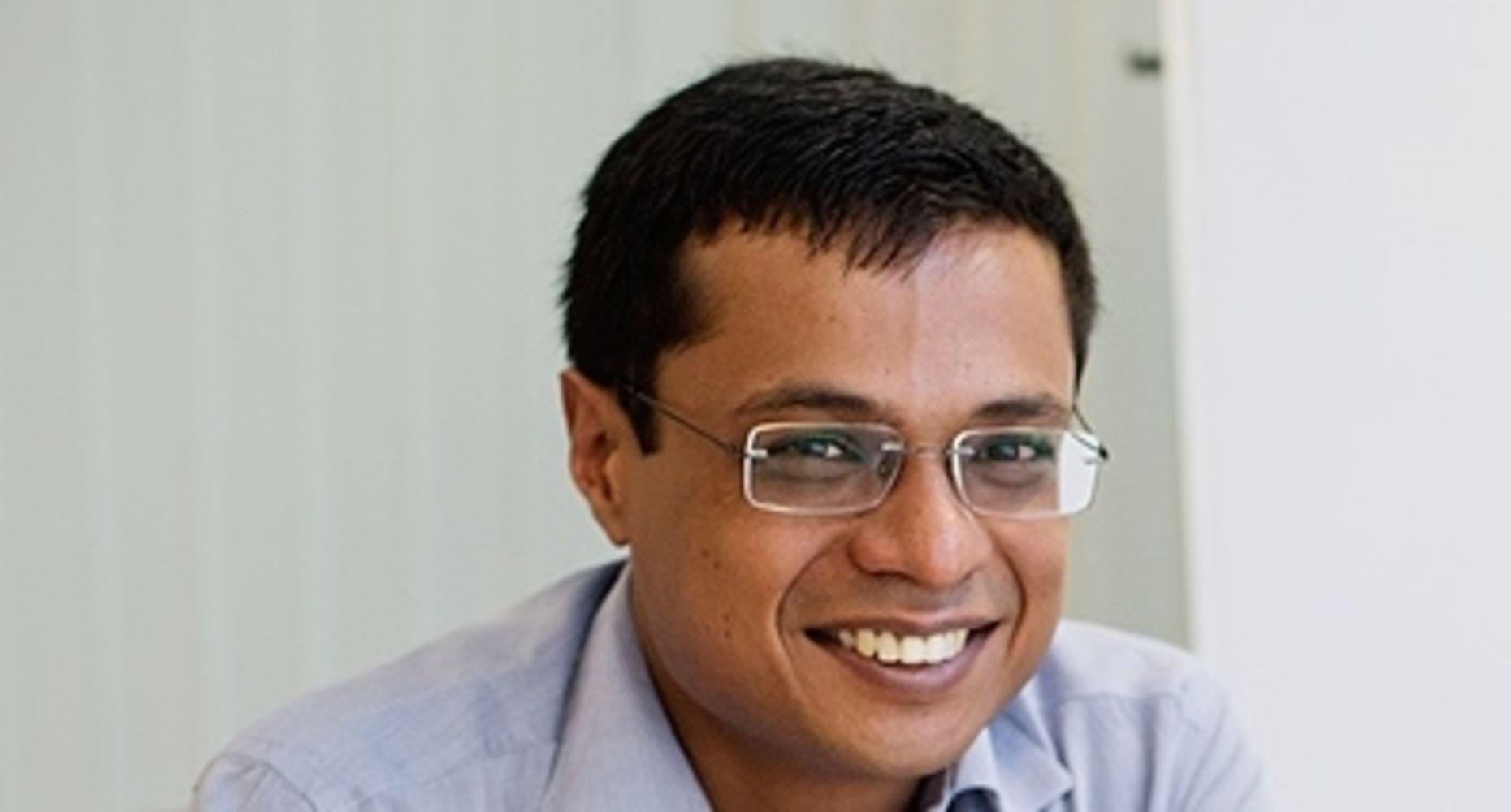 Flipkart co-founder Sachin Bansal. Photo via Wikipedia.