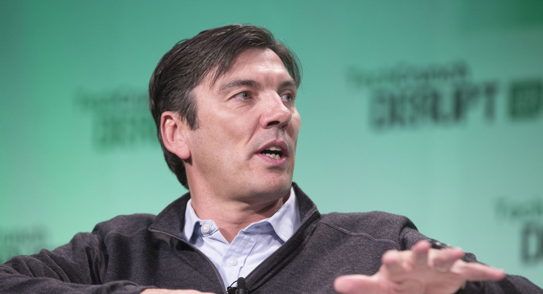 AOL CEO Tim Armstrong. Photo by Bloomberg.