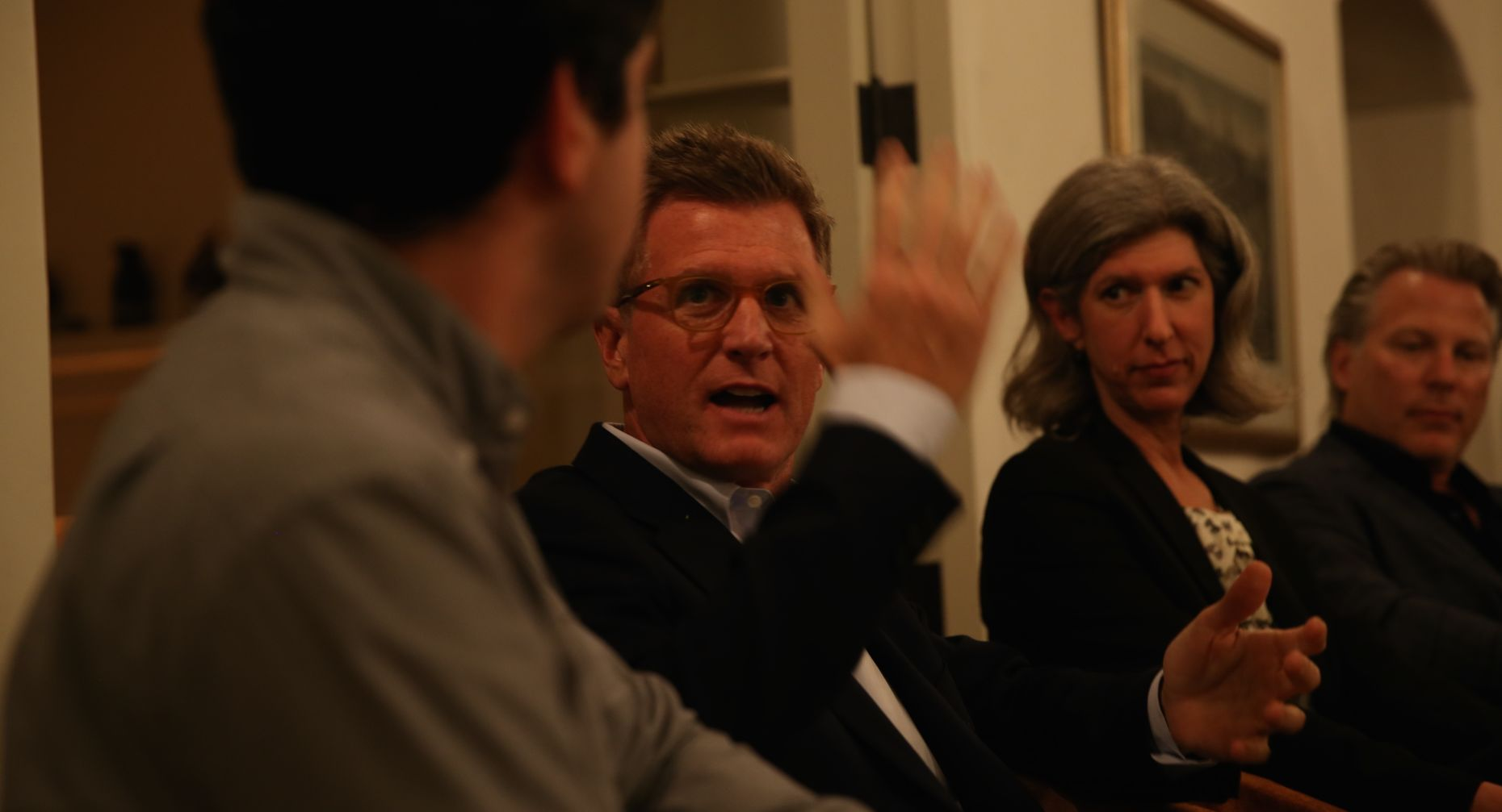 Kevin Reilly, Lauren Zalaznick and Ross Levinsohn. Photo by Matt Vascellaro.