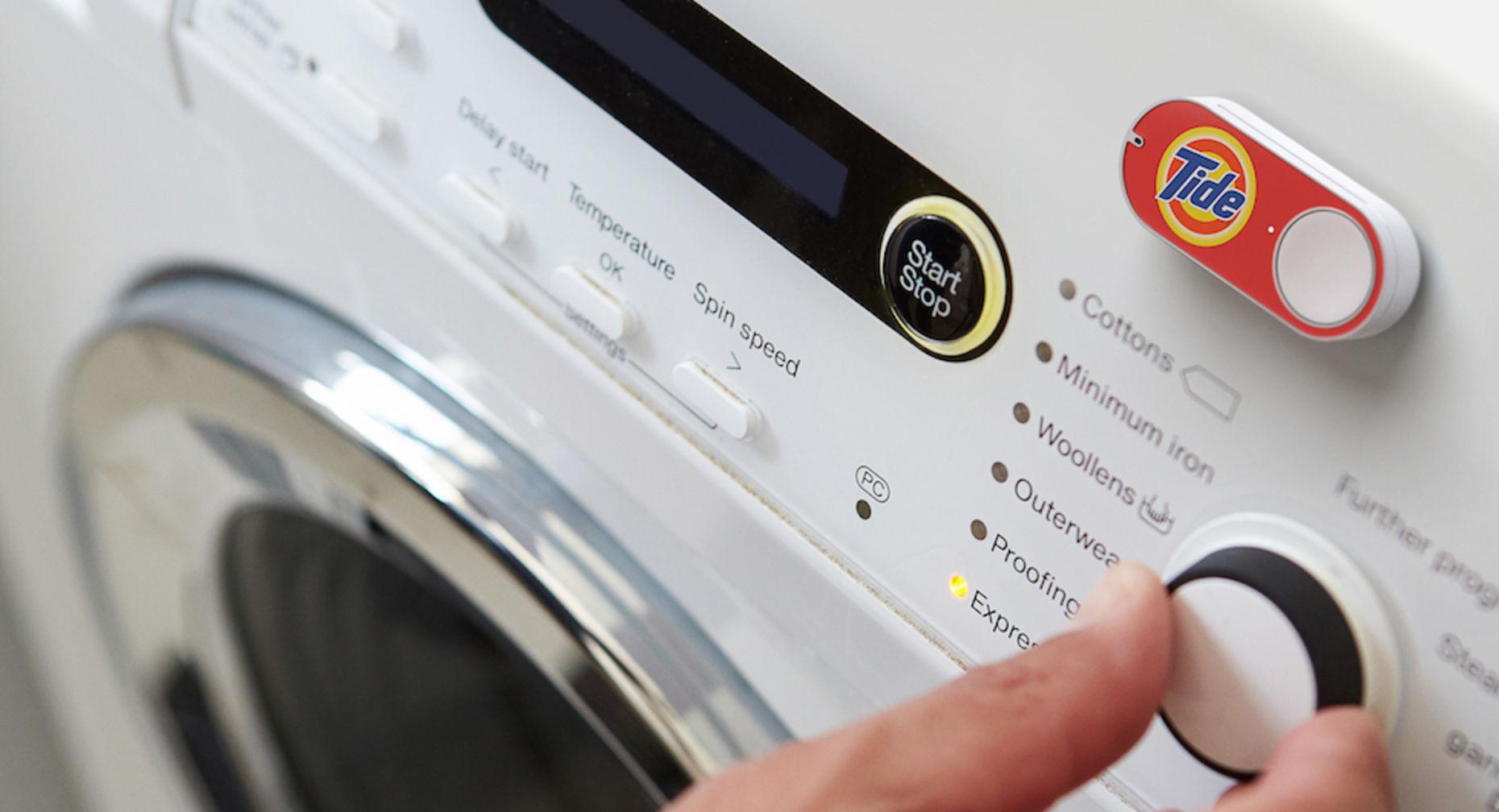 Amazon's Dash button. Photo courtesy Amazon.