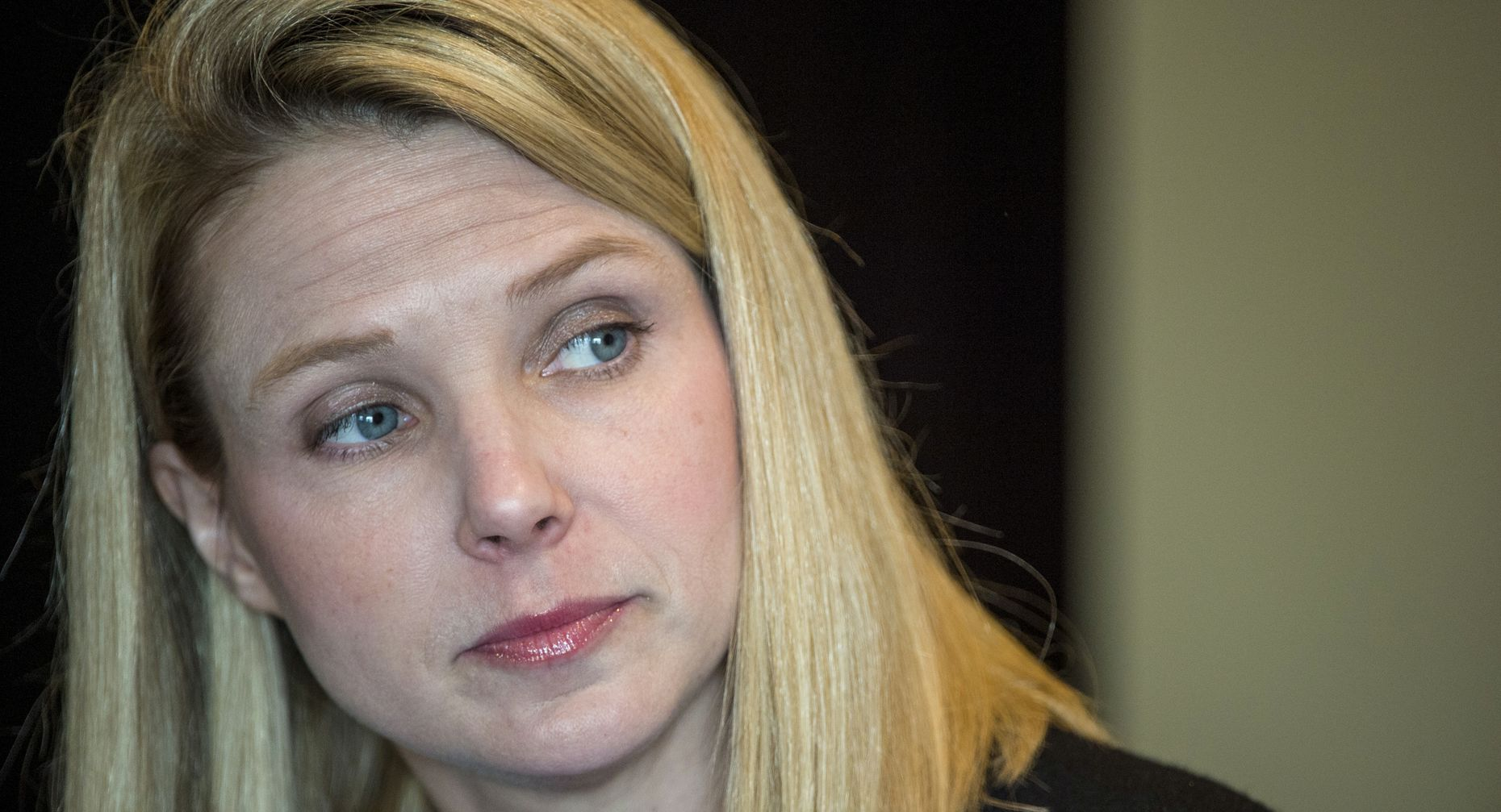 Yahoo CEO Marissa Mayer. Photo by Bloomberg.
