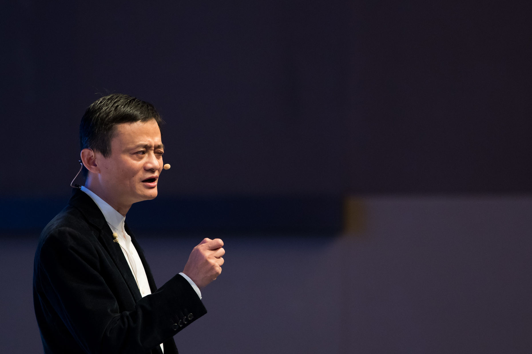 Alibaba co-founder Jack Ma. Photo by Bloomberg.
