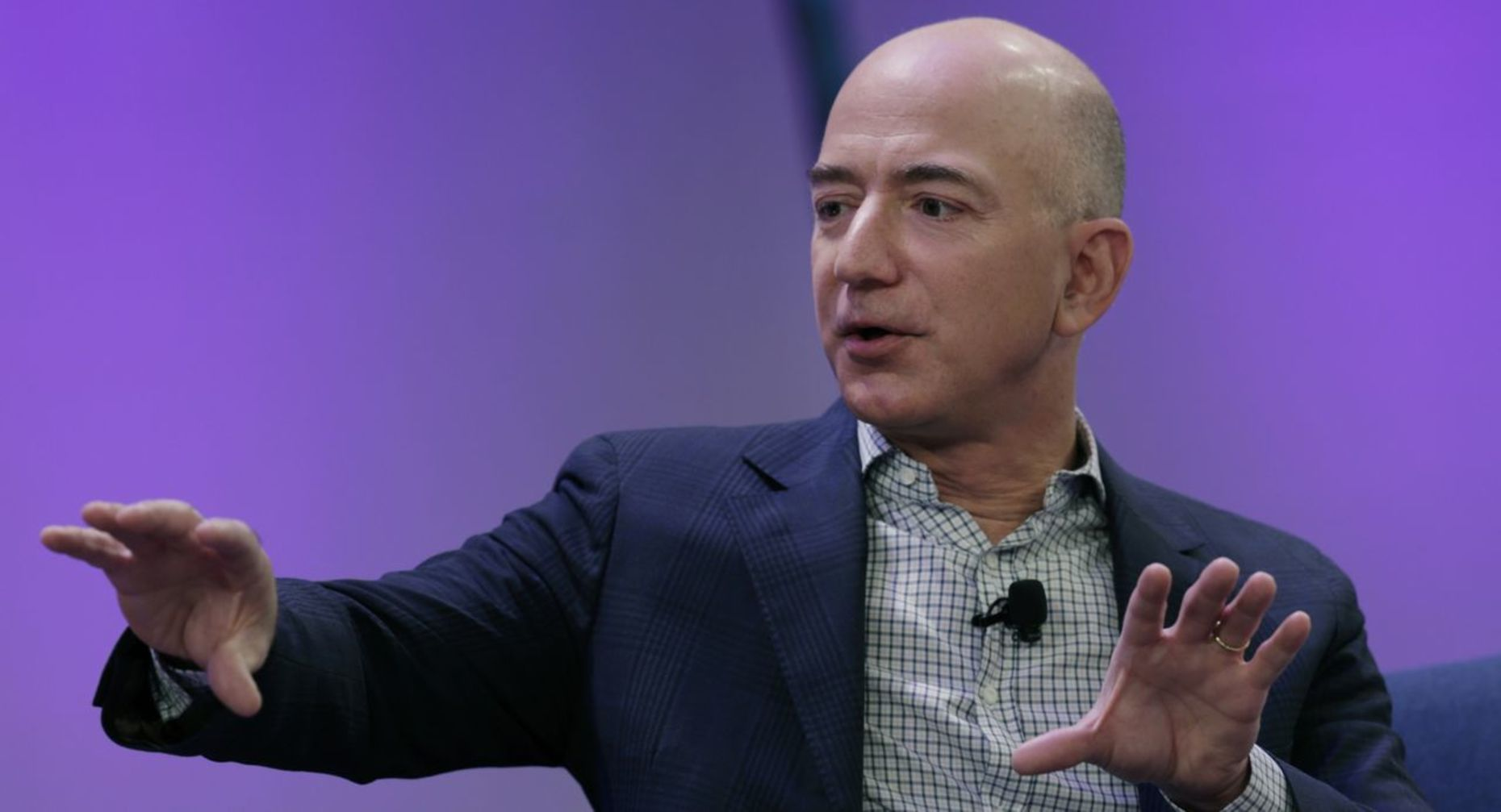 Amazon CEO Jeff Bezos. Credit: Bloomberg