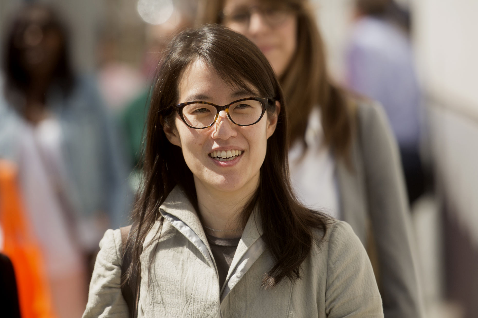 Ellen Pao. Photo by Bloomberg.