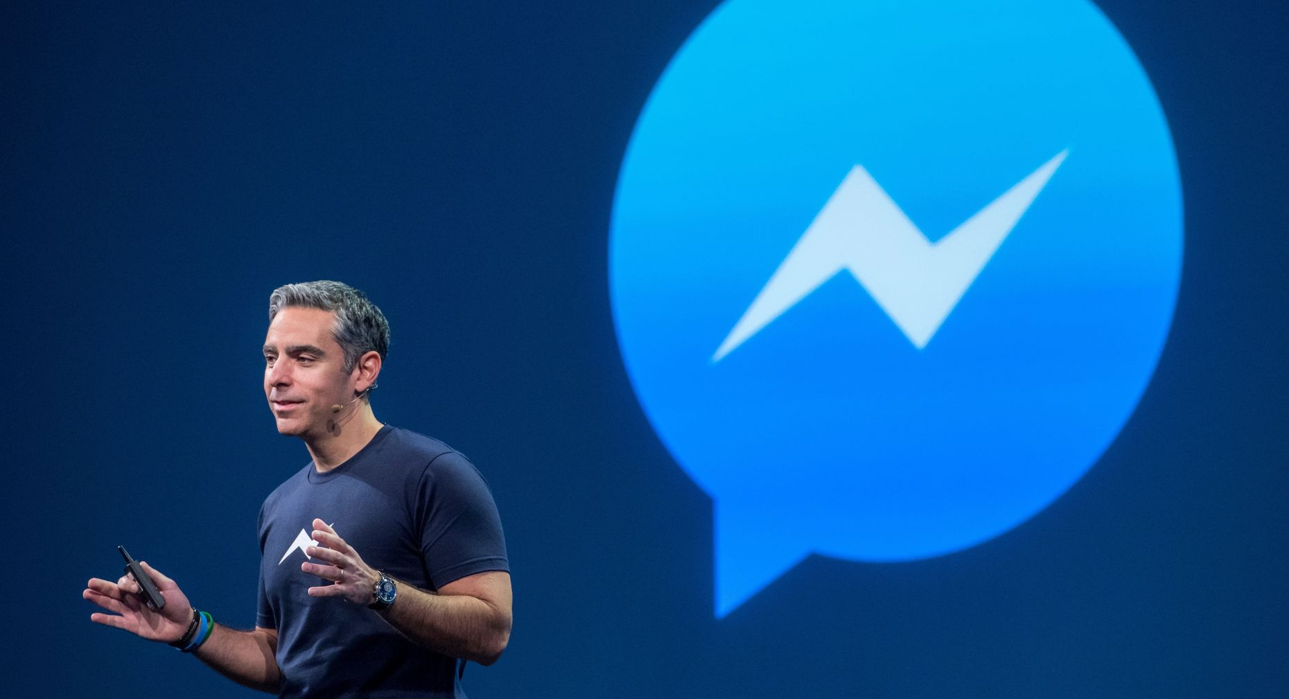 Facebook vp of messaging products, David Marcus. Photo by Bloomberg.