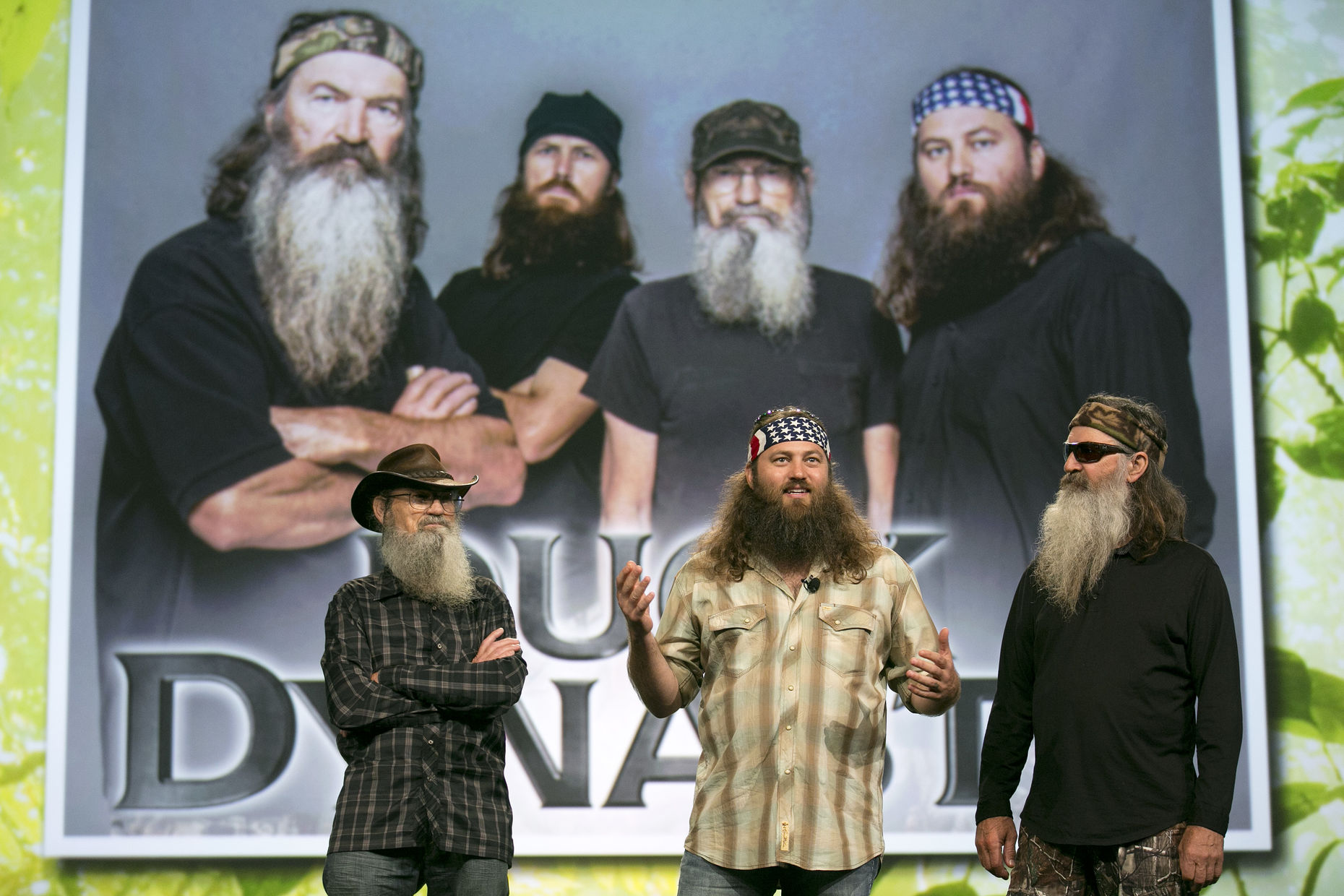 Clips of A+E's Duck Dynasty are on Vessel. Photo by Bloomberg.