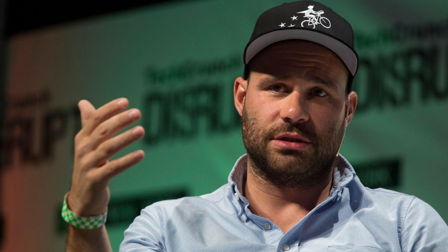 Postmates CEO Bastian Lehmann. Photo by Bloomberg.