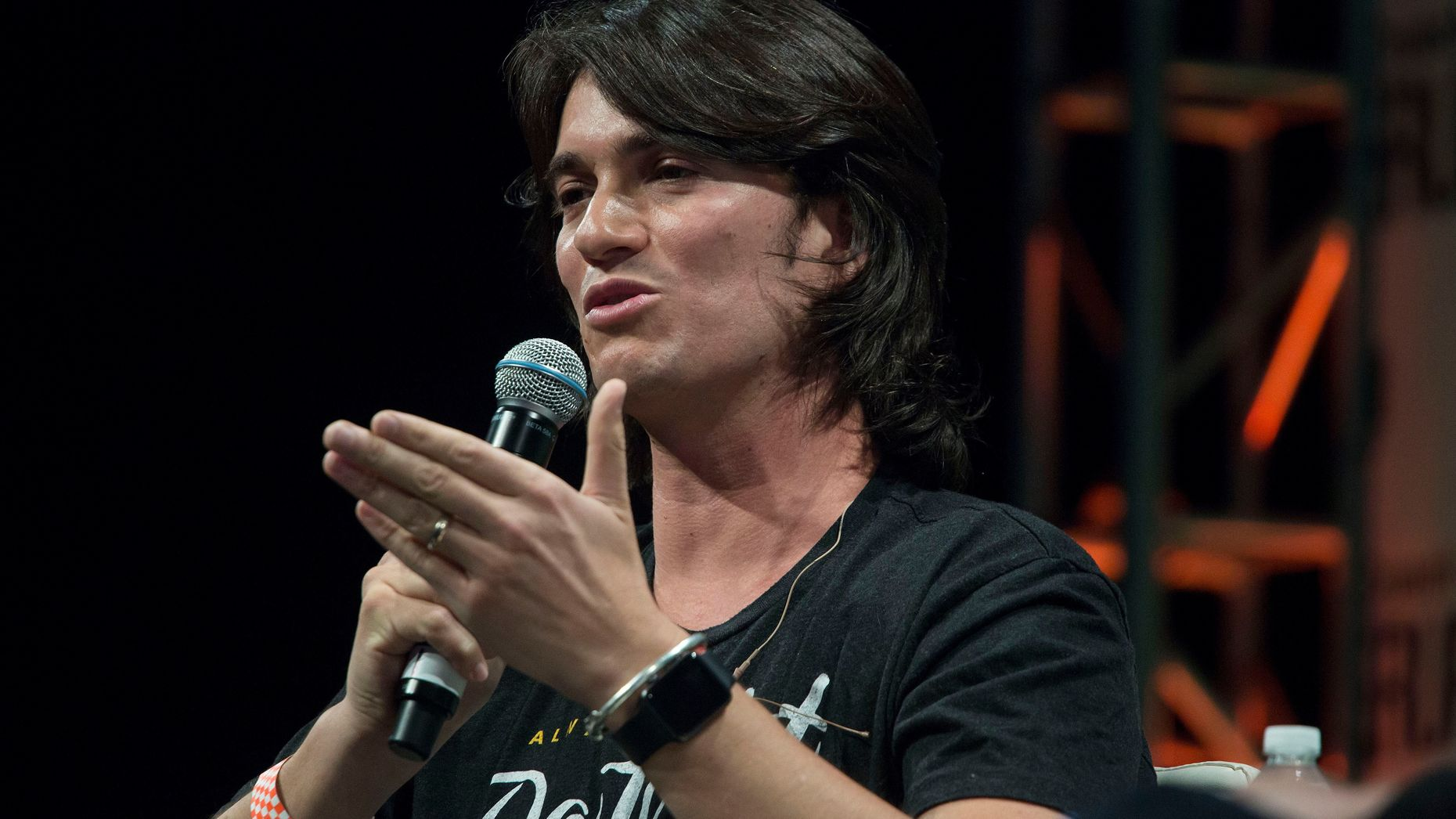 WeWork co-founder and CEO Adam Neumann. Photo by Bloomberg.