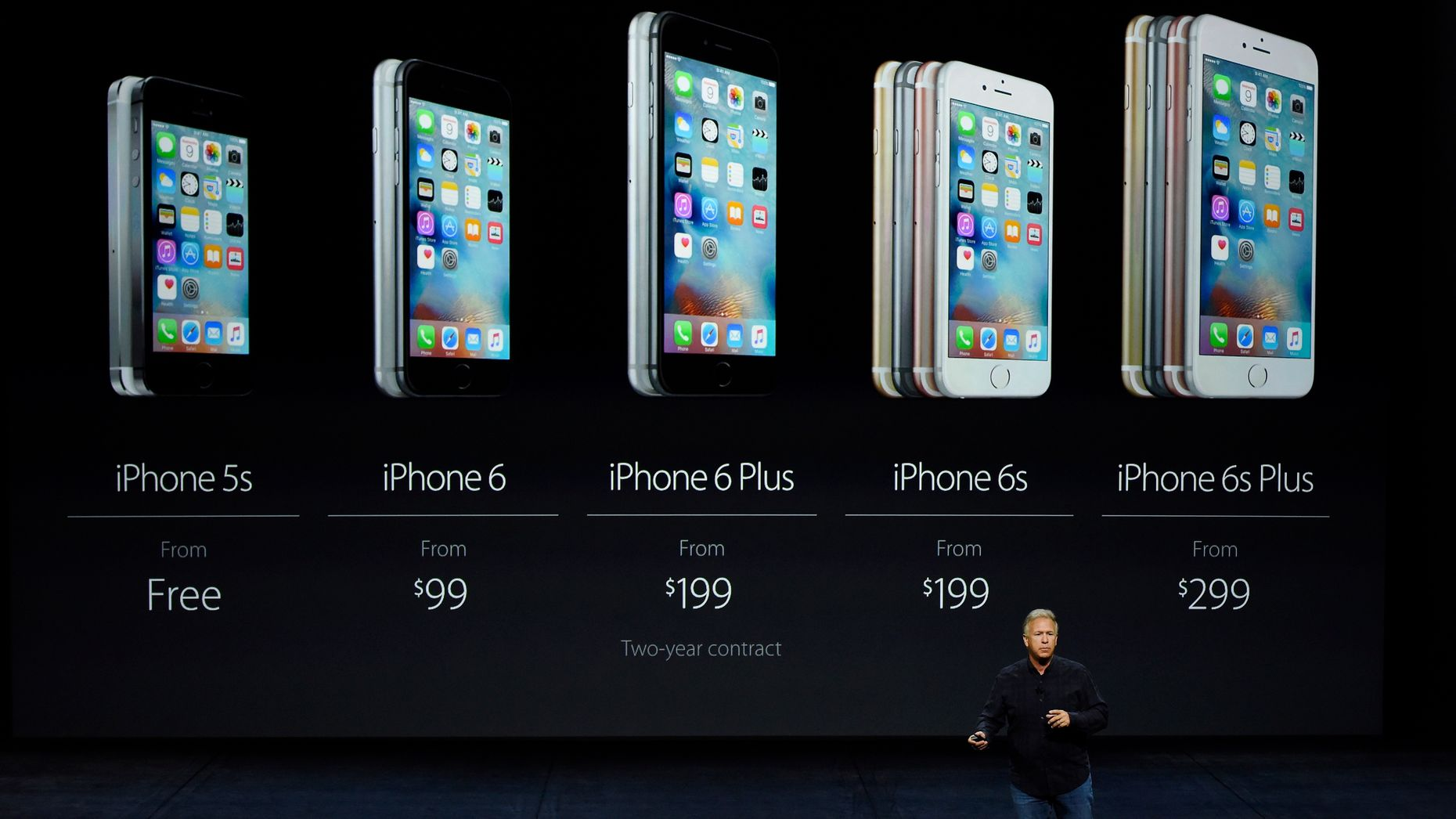 Apple's senior vp for worldwide marketing, Phil Schiller. Photo by Bloomberg.