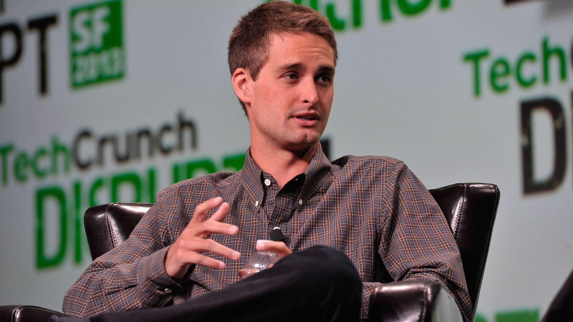 Snapchat CEO Evan Spiegel. Photo by Flickr/TechCrunch.