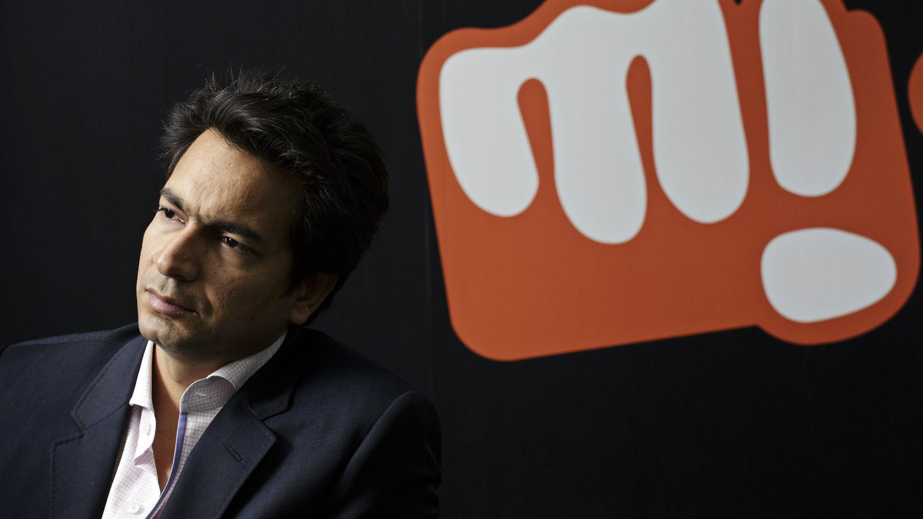 "Micromax co-founder Rahul Sharma, who runs the company's ""Yu"" subsidiary. Photo by Bloomberg."
