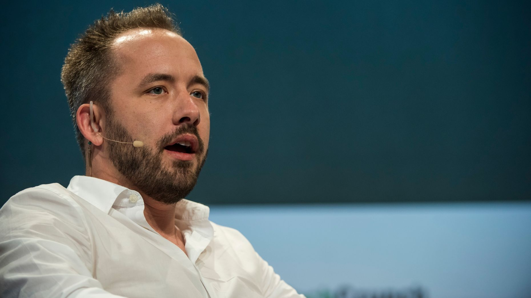 Dropbox CEO Drew Houston. Photo by Bloomberg.