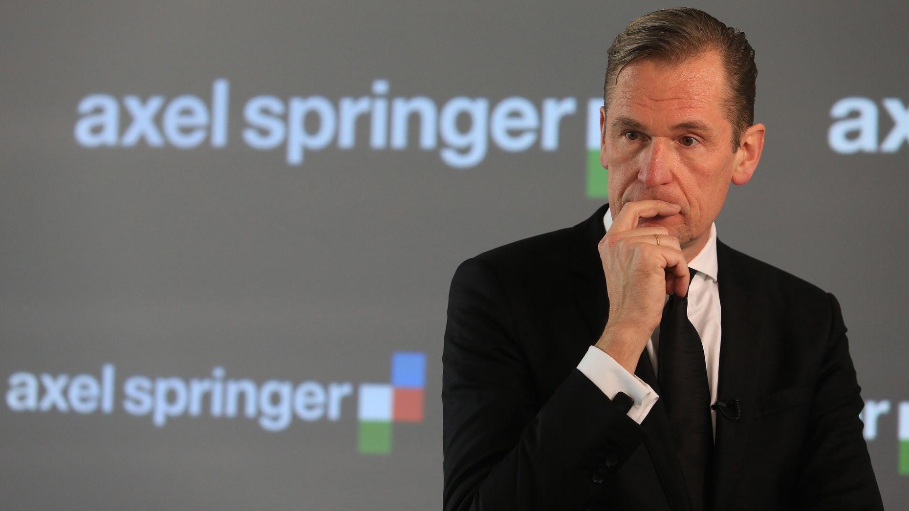 Axel Springer CEO Mathias Döpfner. Photo by Bloomberg.