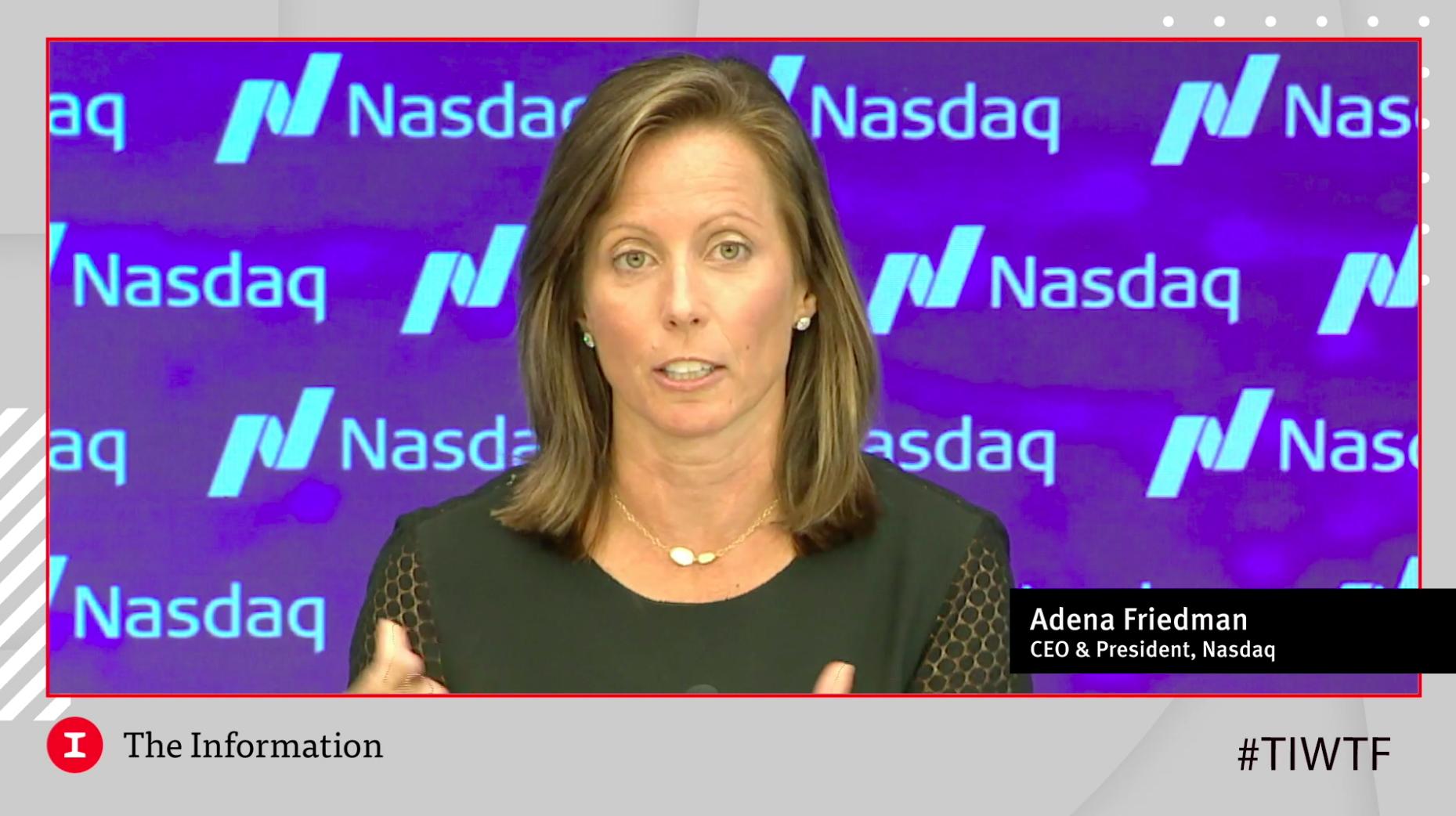 VIDEO: Adena Friedman: What's Driving the SPAC Boom