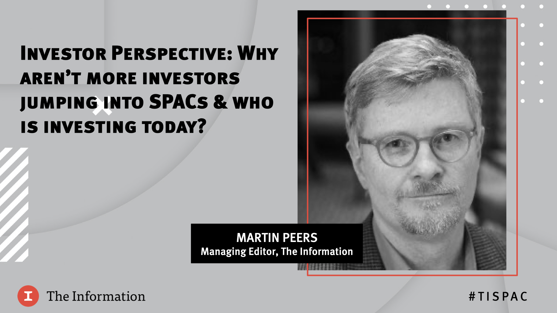 SPAC 2020 - Investor Perspective: Why aren't more investors jumping into SPACs and who is investing today?
