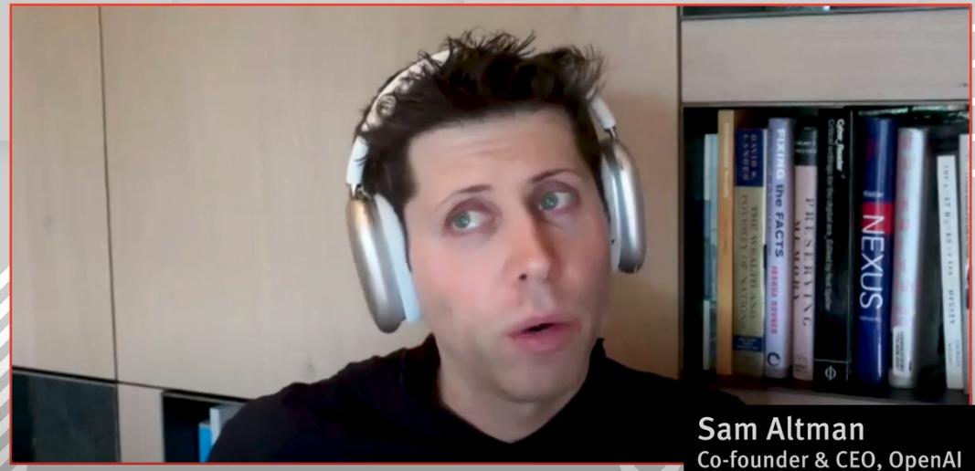 VIDEO: Sam Altman on SPACs