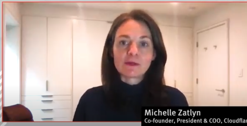 VIDEO: Cloudflare's Michelle Zatlyn on Going Public