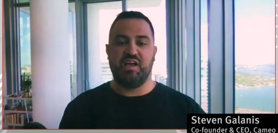 VIDEO: Cameo CEO Steven Galanis